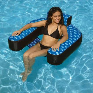 Fabric Covered Suspending Chair Pool Inflatable Today: $57.99