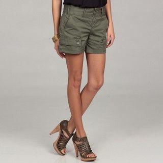 Calvin Klein Womens Rosemary Cargo Pocket Shorts