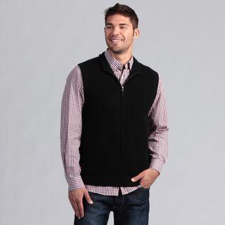 Oliver and James Mens Full Zip Cashmere Vest