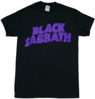 Black Sabbath Logo Black T Shirt Clothing