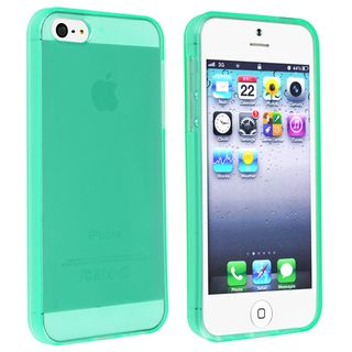 BasAcc Clear Neon Green TPU Case for Apple iPhone 5