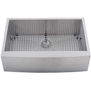 Ticor Undermount Stainless Steel 16 gauge Apron Farm Kitchen Sink
