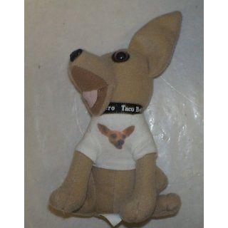 Taco Bell Chihuahua 6 Plush Doll W/shirt
