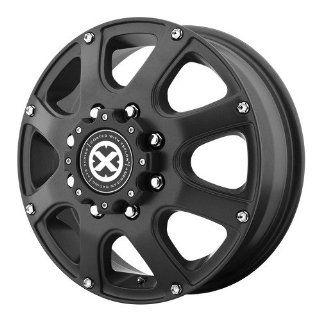 17x6 American Racing ATX Ledge Dually (Teflon Black) Wheels/Rims 8x200