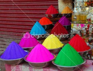 Color powder for Holi Festival  Stockfoto © Bhupendra Singh #1330693