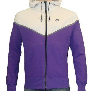 Nike Mens Full Zip Best Windrunner jacket Purple Size