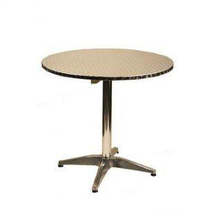 36 Round Top Aluminum Table Furniture & Decor