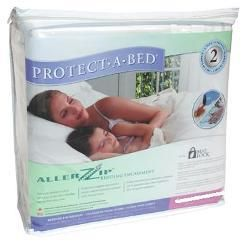 AllerZip Full Extra Long Deep Bedbug proof Mattress Protector