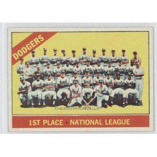 1966 Topps #238   Los Angeles Dodgers TC