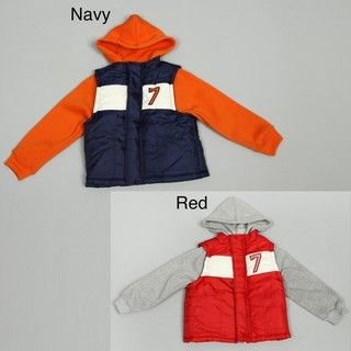 iXtreme Boys Puffer Trim Jacket FINAL SALE