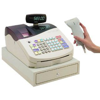 Royal ALPHA583CX Heavy Duty Cash Register with Serial Bar