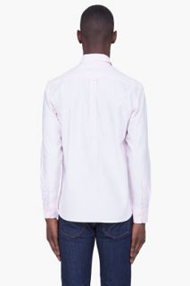 Maison Kitsune Pink Classic Buttondown Shirt for men