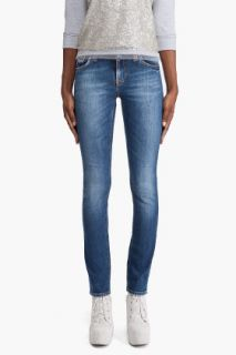 Nudie Jeans Tube Kelly Broken Indigo Jeans for women