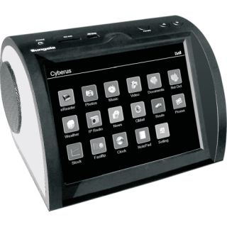 Sungale Cyberus ID801WT Flash Portable Media Player