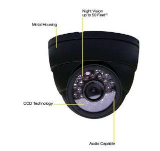Night Owl Security CAM DM420 245A CCD Dome Indoor Camera