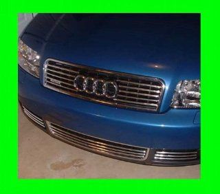 1995 2004 AUDI A6 S6 UPPER CHROME GRILL GRILLE KIT 1996 1997 1998 1999