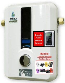 ECOSMART 6 Electric Tankless Water Heater with Remote & BREO Skin