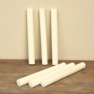 Bee Hardy Hand rolled Ivory Beeswax Taper Candles (Set of 24