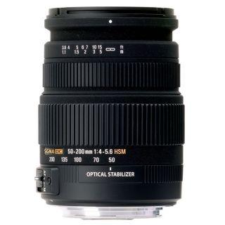 SIGMA 50 200mm F4 5,6 DC OS HSM pour NIKON   Achat / Vente OBJECTIF