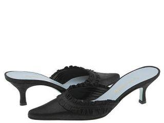 Cynthia Rowley Spa Black Glitter Suede