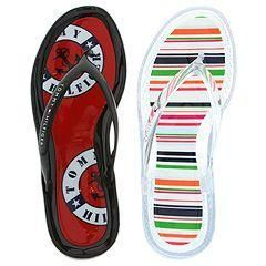 Tommy Hilfiger Lily & Jelly 2 Pack Clear/Multi Strip & Navy