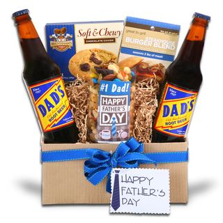 Alder Creek Gifts Happy Fathers Day Gift Basket