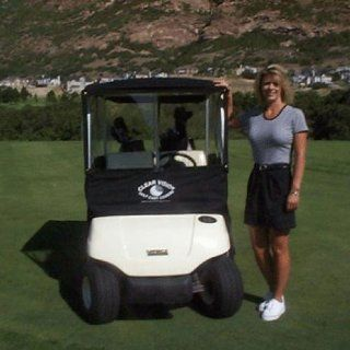 Clear Vision Golf Cart Cover