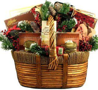 The Holiday Season Spectacular  Premium Christmas Gift Basket   Large