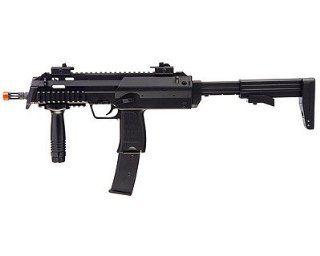 H&K MP7 AEG Airsoft Submachine Gun, Black airsoft gun