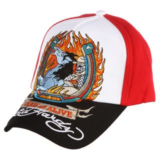 Ed Hardy Boys Demon Horse Embroidered Hat