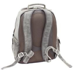 The Jones Collection Distressed Leather Laptop Backpack
