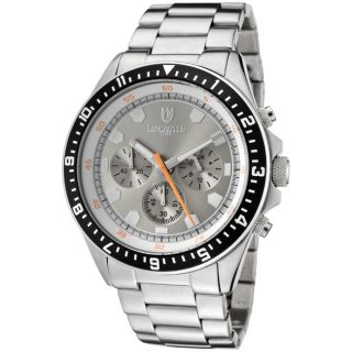 Lancaster Italy Mens Stainless Steel Watch