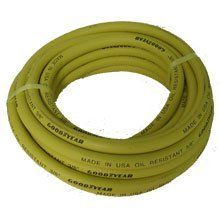 Hose 3/8  Inch by 50 Feet 250 PSI With 1/4 Inch Ends