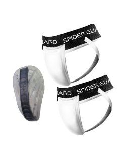 Spider Guard Adult Web Flex Cup with 2 Supporters Sports