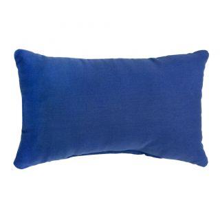 Aqua Blue Rectangle Outdoor Accent Pillows (Set of 2)