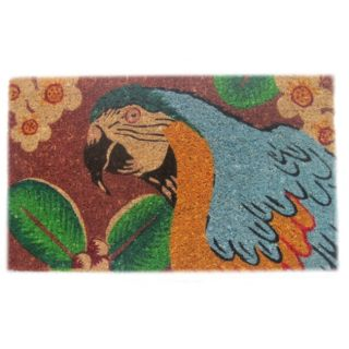 Bahama Parrot Coir Door Mat