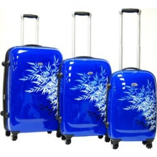 CalPak Bangkok 3 Piece Exp. Hardside Luggage Set (Blue