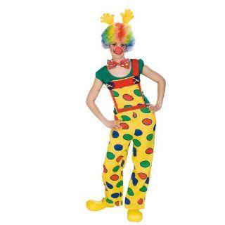 Rubies 1 3217   Damenkostüm Clown Latzhose (ohne Zubehör)