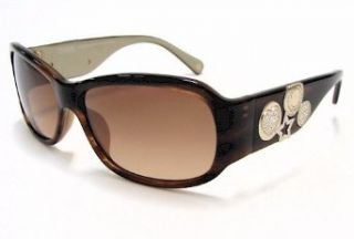com Coach Parker S848 Sunglasses S 848 Brown Horn 245 Frame Clothing