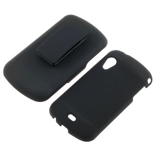 Black Holster with Stand for Samsung Stratosphere SCH i405