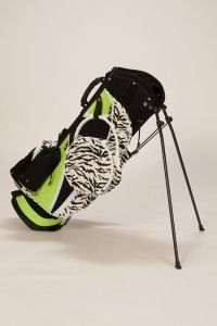 Sassy Caddy Ladies Golf Stand Bags   Zippy Zebra Animal
