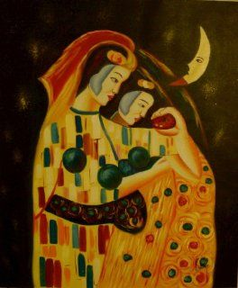 Art Reproduction Oil Painting Klimt Classic 20 X 24