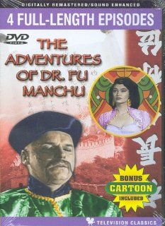The Adventures of Dr. Fu Manchu, 4 Full Length Episodes