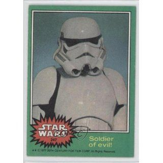 Soldier of evil (Trading Card) 1977 Star Wars #247