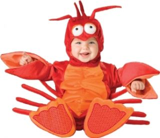 Lil Characters Unisex baby Infant Lobster Costume