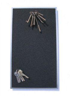 FLUX objects Design, Schlüsselboard aus Edelstahl mit Filz, wie