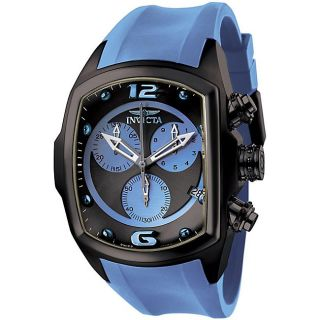 Invicta Mens Lupah Light Blue Chronograph Watch