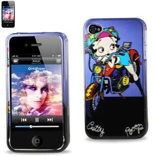 Betty Boop Fitted Snap On HARD Faceplate Protector Case Cover (Betty