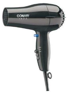 Conair Hand Held Hair Dryer 1875 Watt Black 247BW: Beauty