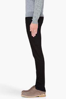 BLK DNM Skinny Black Five Pocket Jeans for men